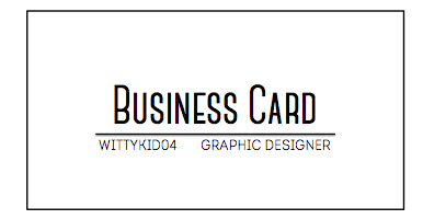 I can create quality business cards 2 choices of design reheart Choice Image