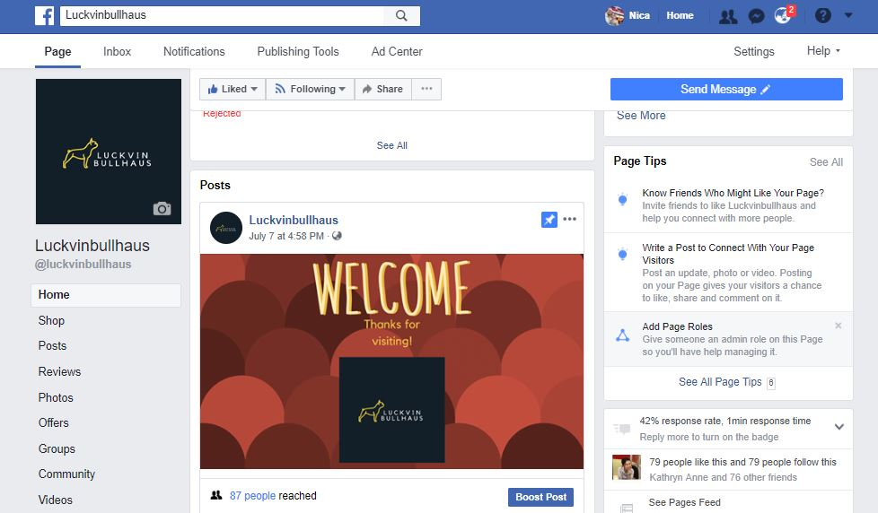 I can create your Facebook business page for you
