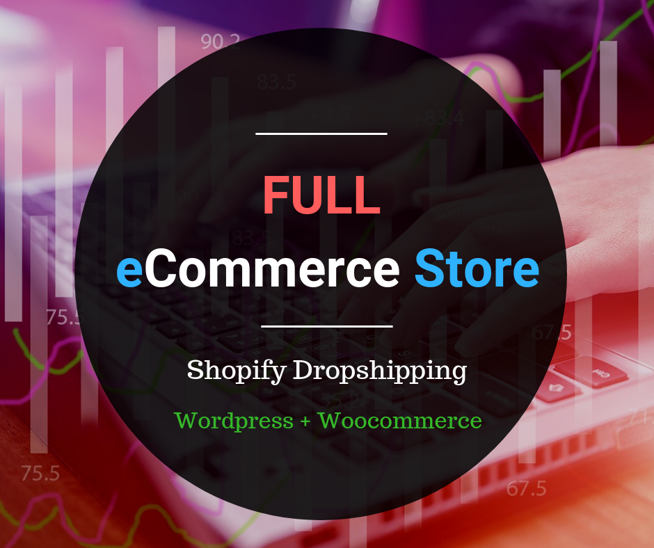 I can build/create/customize/modify your eCommerce website or